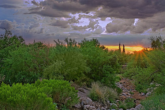 Monsoon Sunset h56 by Mark Myhaver