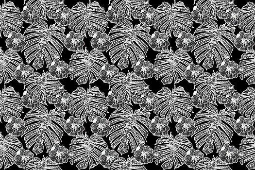 Monstera leaves by Ivanoel Art