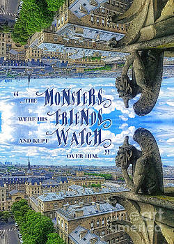 Beverly Claire Kaiya - Monsters Were His Friends Notre-Dame Paris Gargoyle