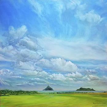 Mont Saint Michel et Tombelaine by Muriel Dolemieux