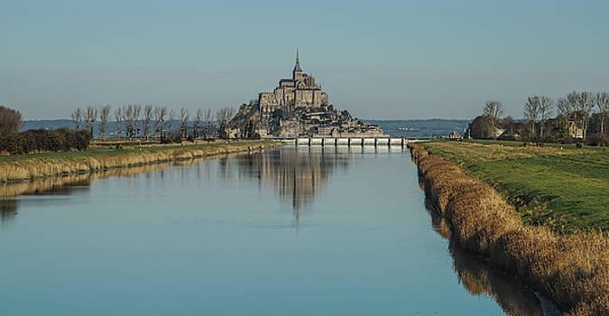 Mont-Saint-Michel France by Cendrine Marrouat