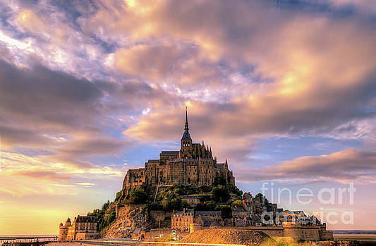 Mont Saint Michel, France - HDR by Sinisa CIGLENECKI