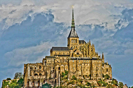 Mont Saint Michel I by Dawn Wayand