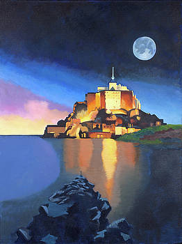 Mont Saint-Michel by Susan McNally