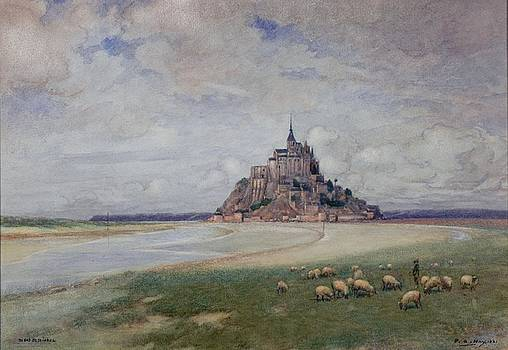 Mont St. Michel by Peter Alexander Hay