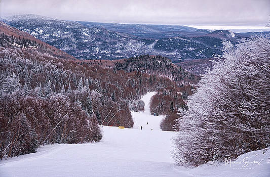 Mont Tremblant Slopes by Michael Santos
