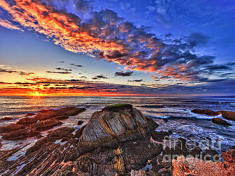 Montana de Oro sunset by Beth Sargent