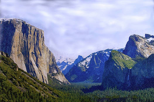 Montana Mountains by Anke Wheeler