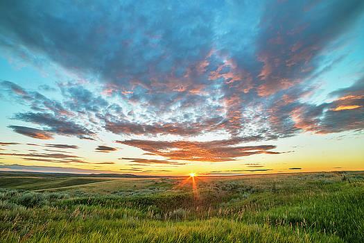 Montana Sunrise by Greg Vaughn