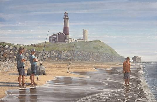 Montauk Point by Gary M Long