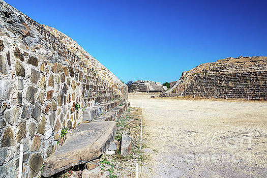 Monte Alban Temples by Jess Kraft