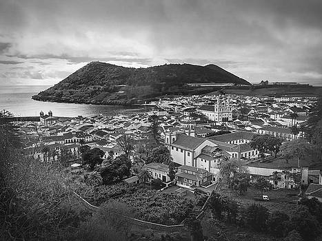 Monte Brasil and Angra do Heroismo, Terceira Island, Azores by Kelly Hazel
