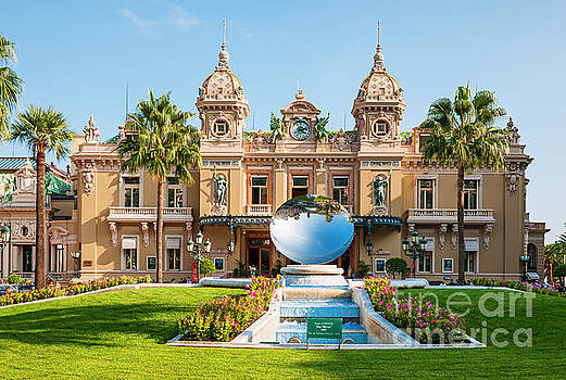 Elena Elisseeva - Monte Carlo Casino and Sky Mirror in Monaco