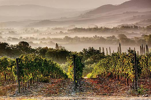 Montepulciano Sunrise by John Frid
