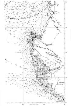Monterey Bay and Big Sur Coast Coast and Geodetic Survey, Sept. 1911  by California Views Mr Pat Hathaway Archives