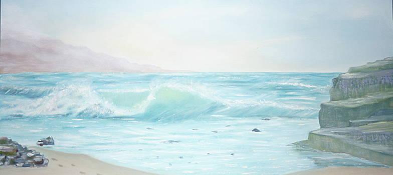 Ilona MONTEL - Monterey Bay, California