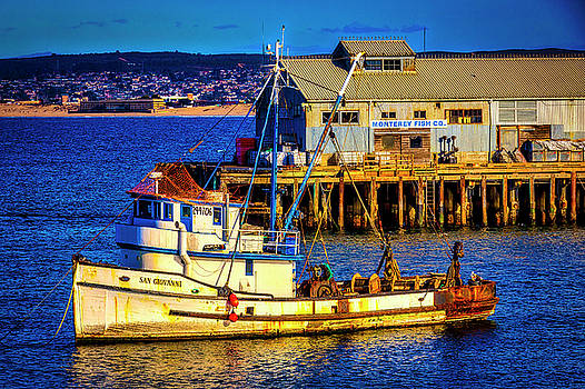 Monterey Bay Fishing Boat by Garry Gay