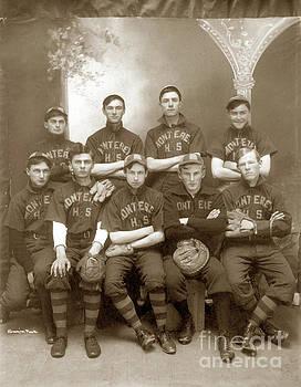 California Views Mr Pat Hathaway Archives - Monterey High School Baseball team circa 1908