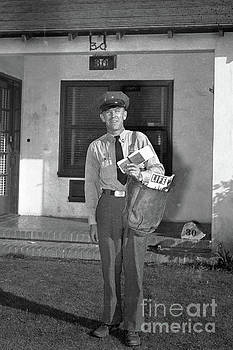 California Views Mr Pat Hathaway Archives - Monterey  Mailman on his route,   Sept. 1946