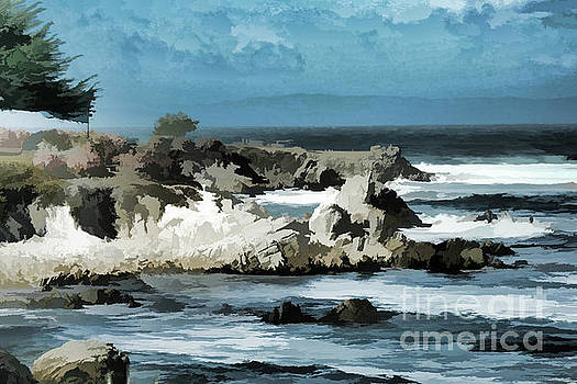Chuck Kuhn - Monterey Pebble Beach Shore