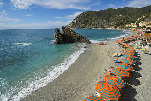 Monterosso Beach Day by Brad Scott