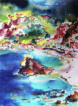 Ginette Callaway - Monterosso  Cinque Terre Italy
