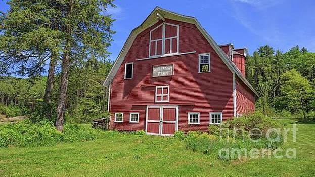 Edward Fielding - Montford Farm Red Barn Orford New Hampshire