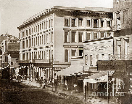 California Views Mr Pat Hathaway Archives - Montgomery Block San Francisco  was erected in 1853
