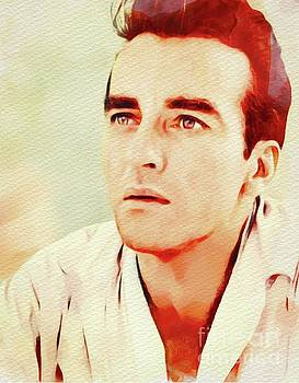 John Springfield - Montgomery Clift, Vintage Movie Star