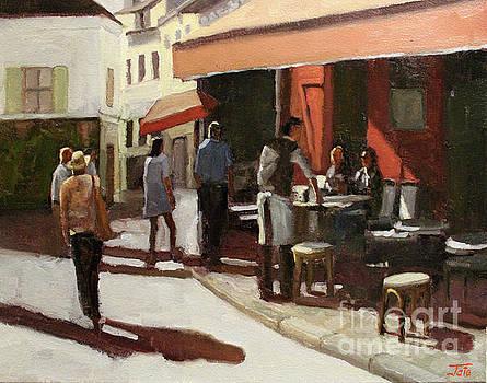 Montmarte cafe by Tate Hamilton