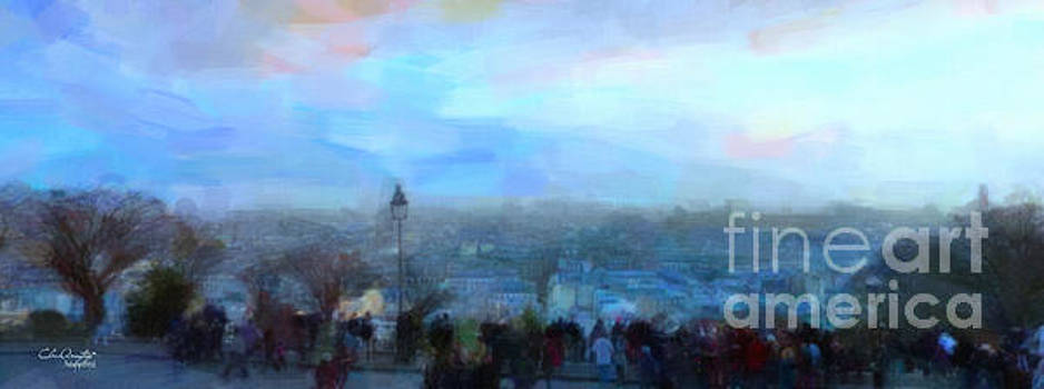 Montmartre from the Butte by Chris Armytage