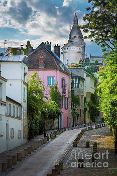 Inge Johnsson - Montmartre Hill