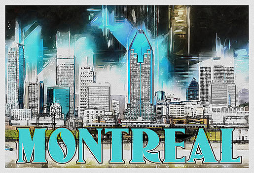 Montreal Lights by Kai Saarto