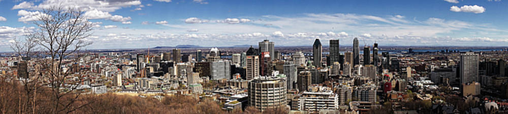 Montreal Seen From Above by For Ninety One Days