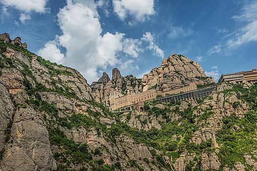 Montserrat Monastery by Alida Thorpe