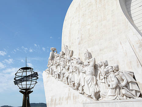 Monument of the Discoveries by Rebecca Cozart