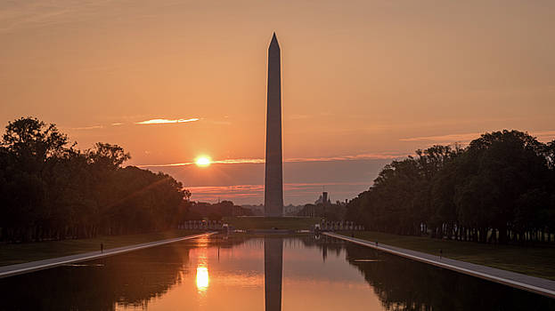 Monument Sunrise by Michael Donahue