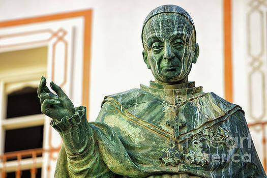Monument to Fray Domingo de Silos Morenos Cadiz Spain by Pablo Avanzini
