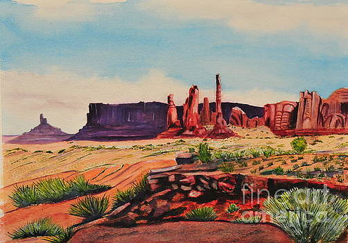 Monument Valley by John W Walker