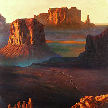 Monument Valley Tribal Park in Colorado by Atelier B Art Studio
