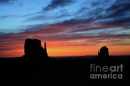 Monument Valley Western Sunrise by Steve Boice