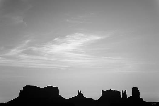 David Gordon - Monument Valley XI BW