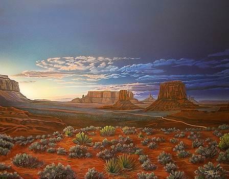 Monumental Solitude by Jerry Bokowski