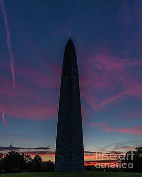 Monumental Sunset by Phil Spitze