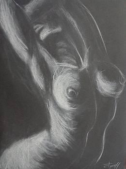 Mood 1 - Female Nude by Carmen Tyrrell