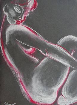 Mood 2 - Female Nude by Carmen Tyrrell