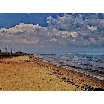 Moody Beach #summer Beach #beach by Emmanuel Varnas