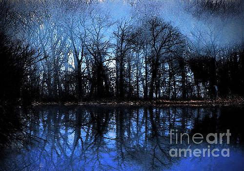 Moody Blue Daybreak by Cedric Hampton