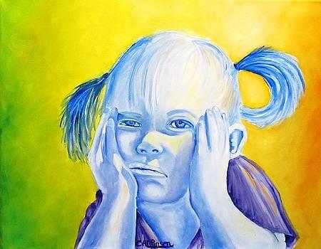 Moody Blues by Carol Allen Anfinsen