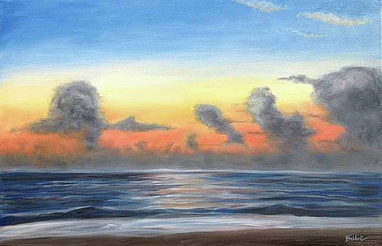 Moody Outer Banks Sunrise by Billie Mann